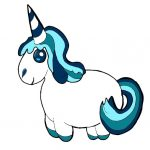 unicornio bonito kawaii