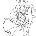 Muñeca Kawaii pelo largo camisa camiseta de puntos falda cinturon barata
