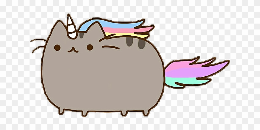 gato kawaii pusheen