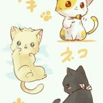 gatos kawaii anime