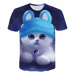 Camisetas Kawaii bonitas, baratas y personalizadas, hay de animales, dibujos animados y encima de calidad