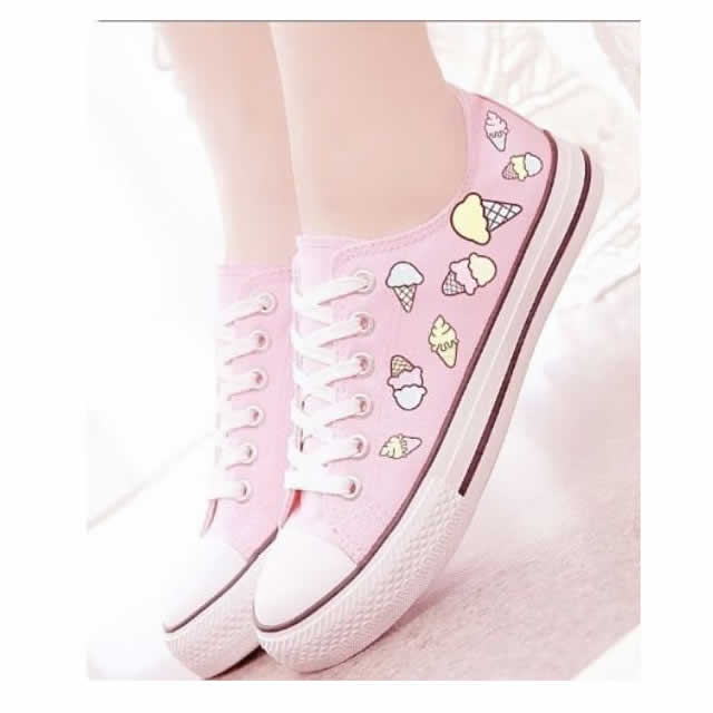 Zapatos Kawaii bonitos, baratos, cómodos y personalizados, hay de animales, dibujos animados y encima de calidad